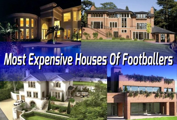 Top 10 most expensive houses of footballers www for Expensive homes for sale in the world