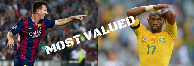 most valued players
