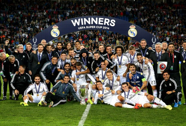Real Madrid Equal FC Barcelonas Trophy Record With UEFA Super Cup