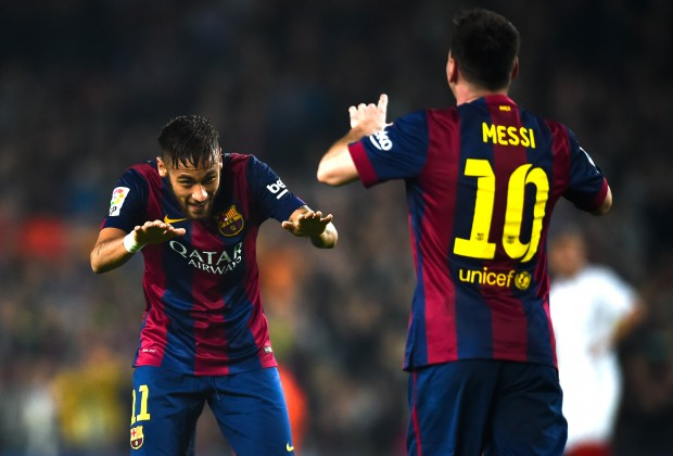 How Does Neymar Compare To 24 Year Old Lionel Messi
