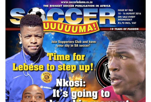 The Biggest Soccer Publication In Africa The Leader In The Latest Local And International Soccer News In This Week S Soccer Laduma 985