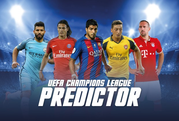 UEFA Champions League Predictor 2016/17 Is Live | www