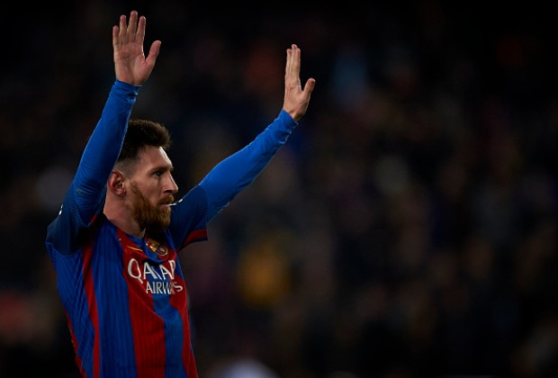 lionel messi closes in on most goals for single club record. Black Bedroom Furniture Sets. Home Design Ideas