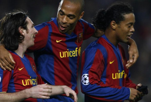 Thierry Henry: I Competed With Ronaldinho & Co. At FC Barcelona, Coutinho Will Have It Easier ...