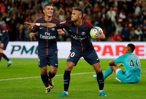 French Ligue 1 Report Paris Saint Germain V Toulouse 20 August 2017
