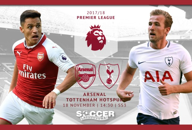 English Premier League Starting XI: Arsenal v Tottenham Hotspur 18