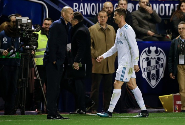 LaLiga: Ronaldo fired up as Zidane tries to avoid PSG talk