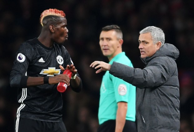 Jose Mourinho Replies To Speculation About Paul Pogba's Unhappiness