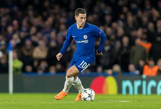 Hazard identifies the Premier League's three best players