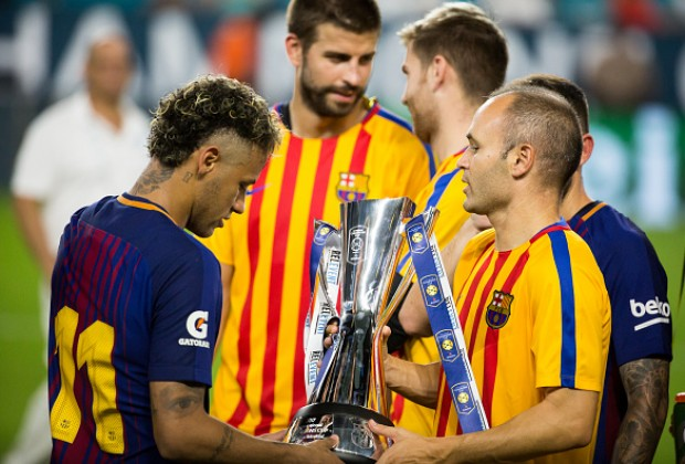 Real Madrid Inferior To Barcelona Even If Neymar Joins, Andres Iniesta Says