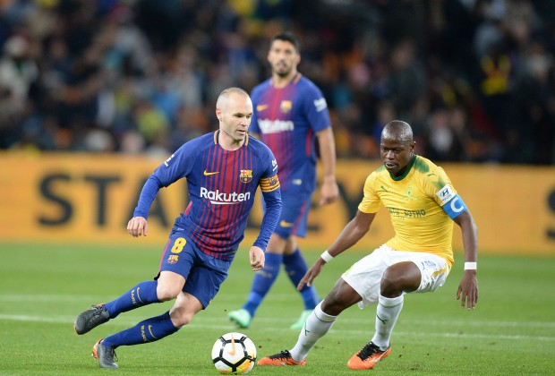 Twitter reacts to Sundowns v Barcelona game