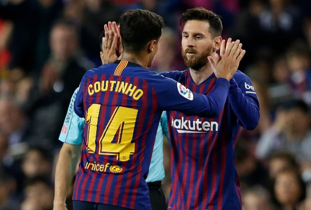 Image result for Messi Coutinho