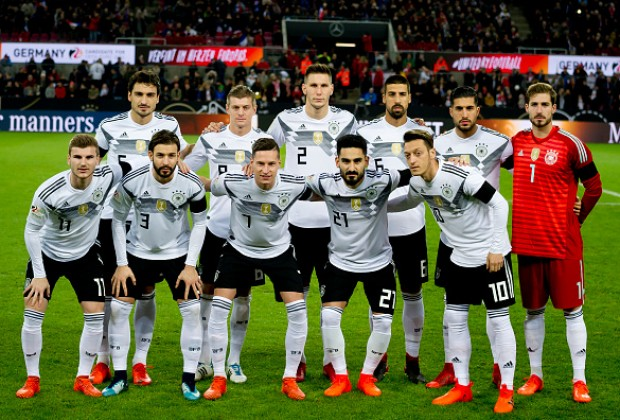 Germany Drop Sane, Name Ozil, Rudiger, Neuer, Kroos In World Cup Squad