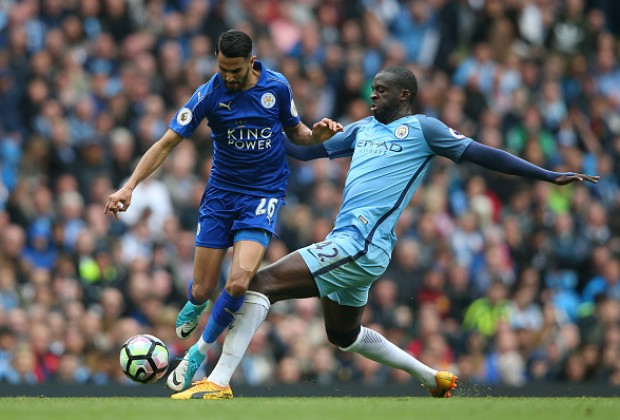 Manchester City edging closer to deal for Leicester winger Riyad Mahrez