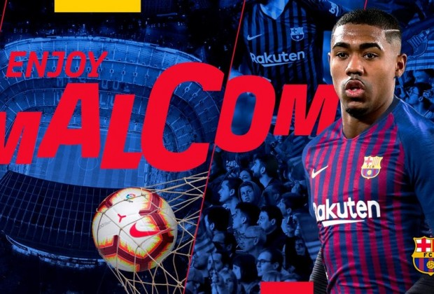 Barcelona land Malcom from Bordeaux after outbidding Roma at 11th hour