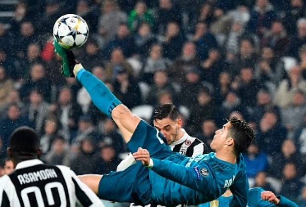 Cristiano Ronaldo's effort and aggression is striking - Juventus' Andrea Barzagli