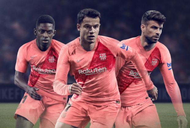 Barca unveil 2018/19 Nike third kit