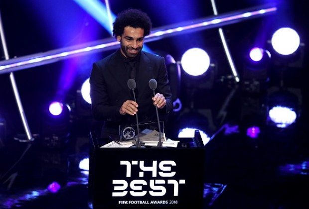 Mohamed Salah wins Federation Internationale de Football Association  best goal award at The Best gala