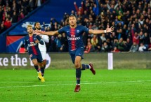 PSG's Mbappe scores four goals vs. Lyon