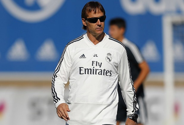 Under-fire Lopetegui not thinking about sack as Real slide continues
